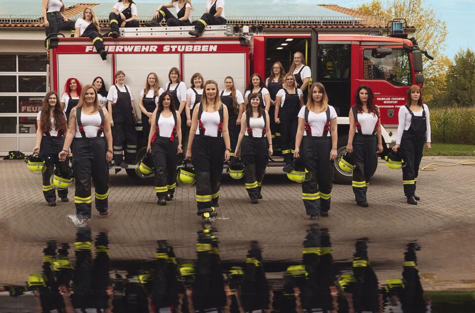Feuerwehrfrauen Kalender 2021